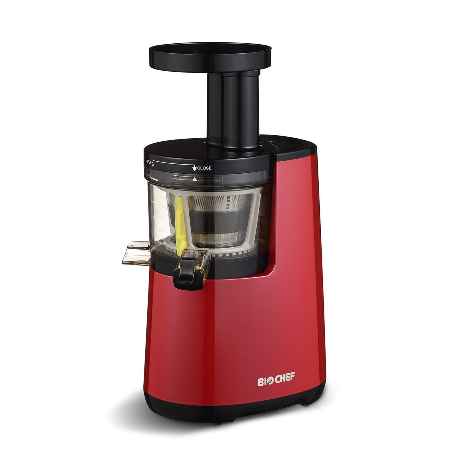 Juice Wizard Slow Juicer : NEW BioChef Atlas Cold Press Slow Fruit Juicer - Red eBay