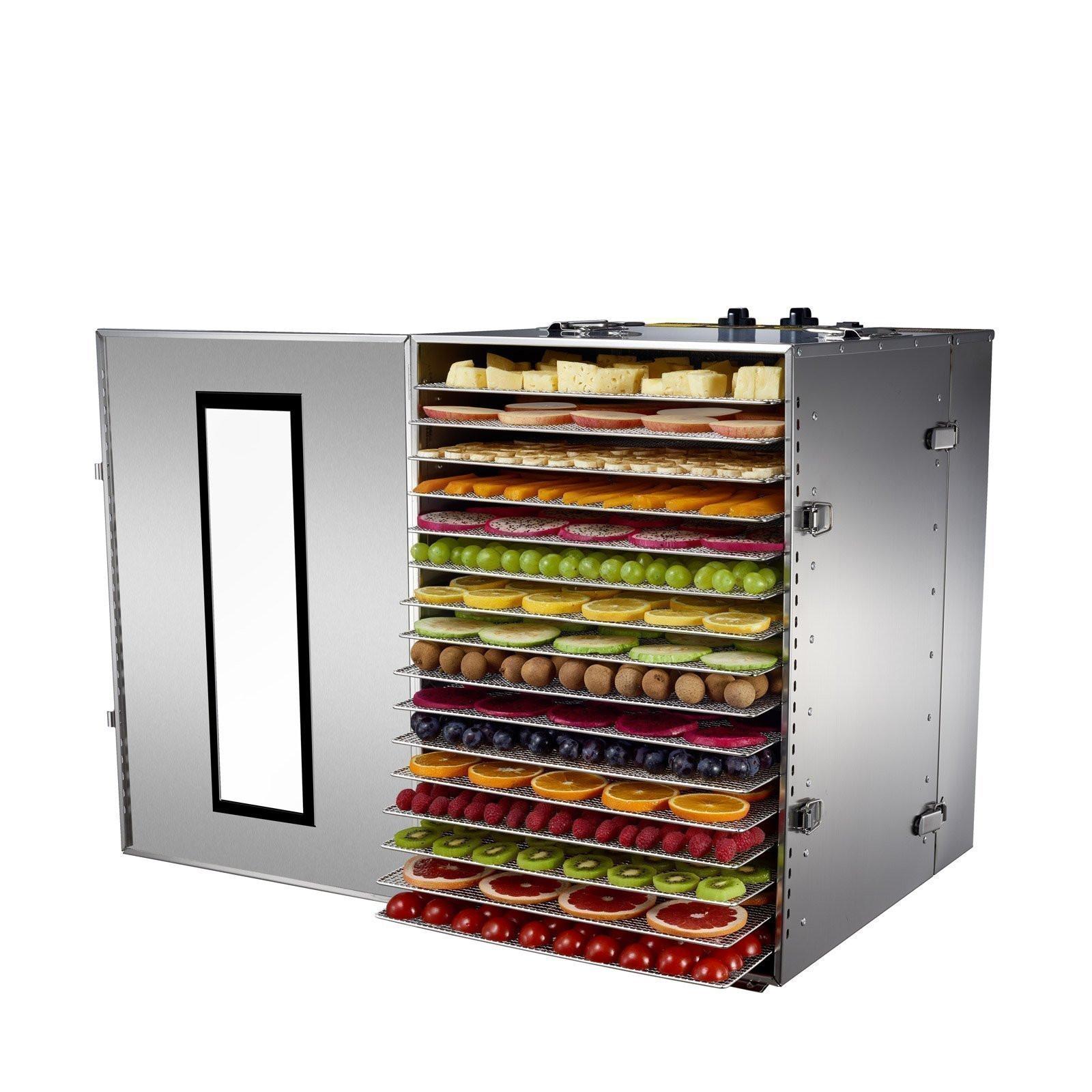 BioChef Premium 16 Tray Commercial Food Dehydrator Food