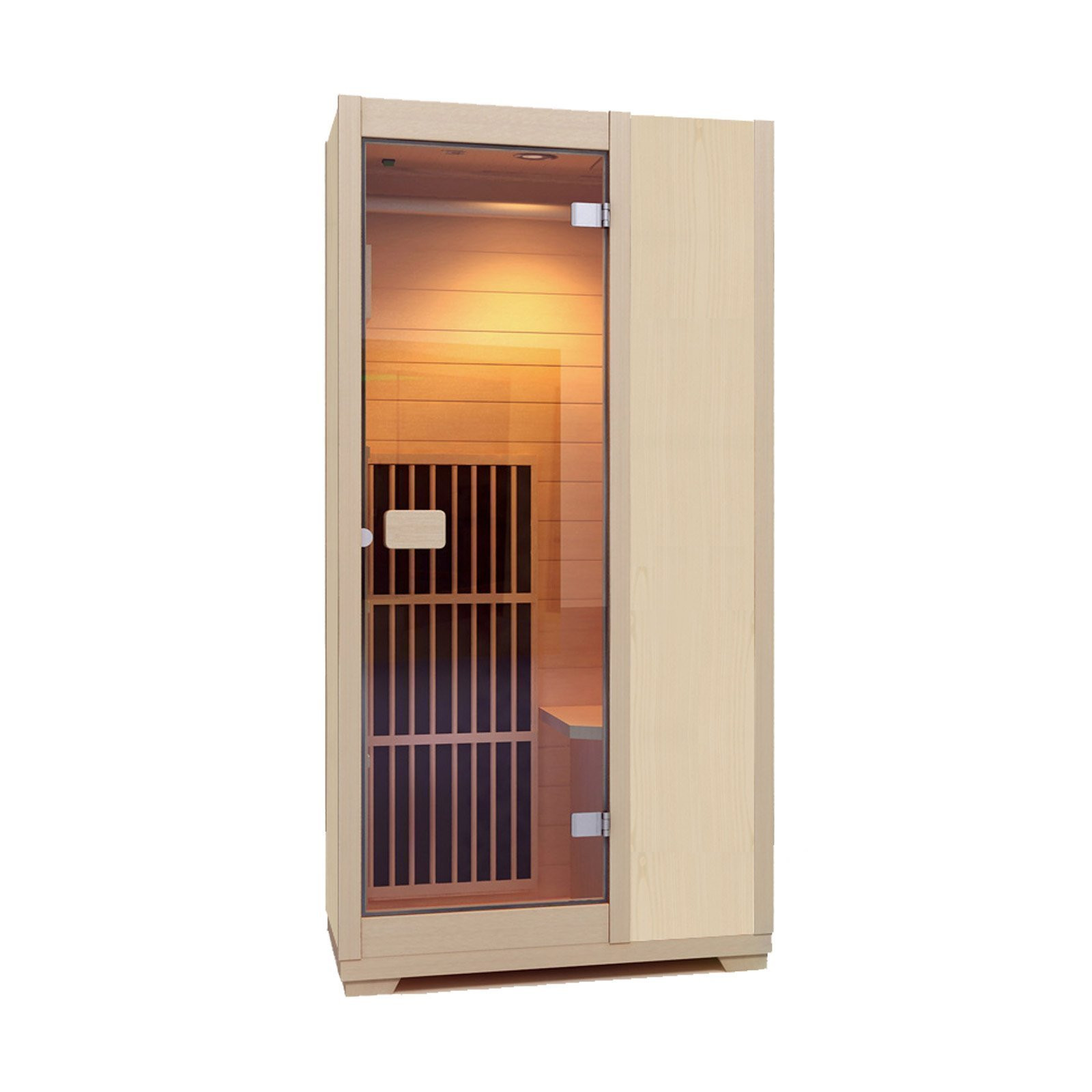 Zen 'Brighton' Infrared Sauna ZIV015 - Natural