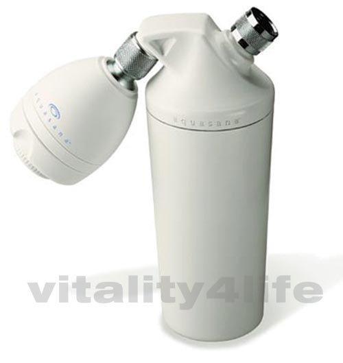 new aquasana shower water filter unit aq4100 ebay. Black Bedroom Furniture Sets. Home Design Ideas