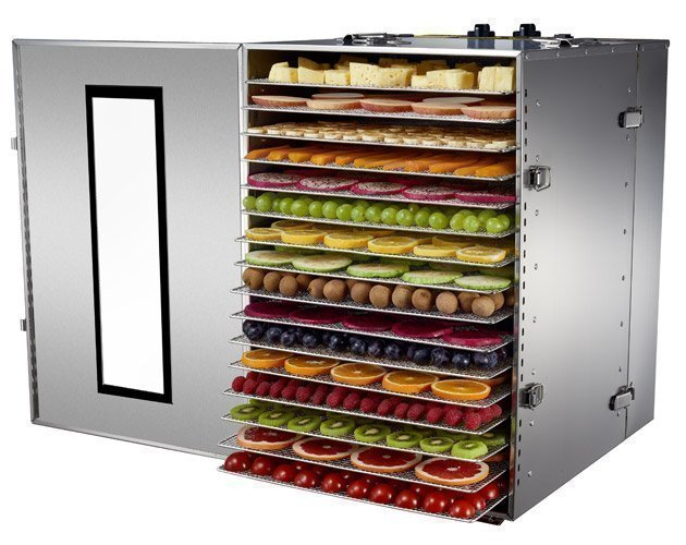 BioChef Premium 16 Tray Commercial Food Dehydrator Fruit