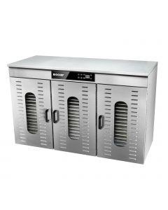 BioChef Commercial 48 Tray Food Dehydrator angle front