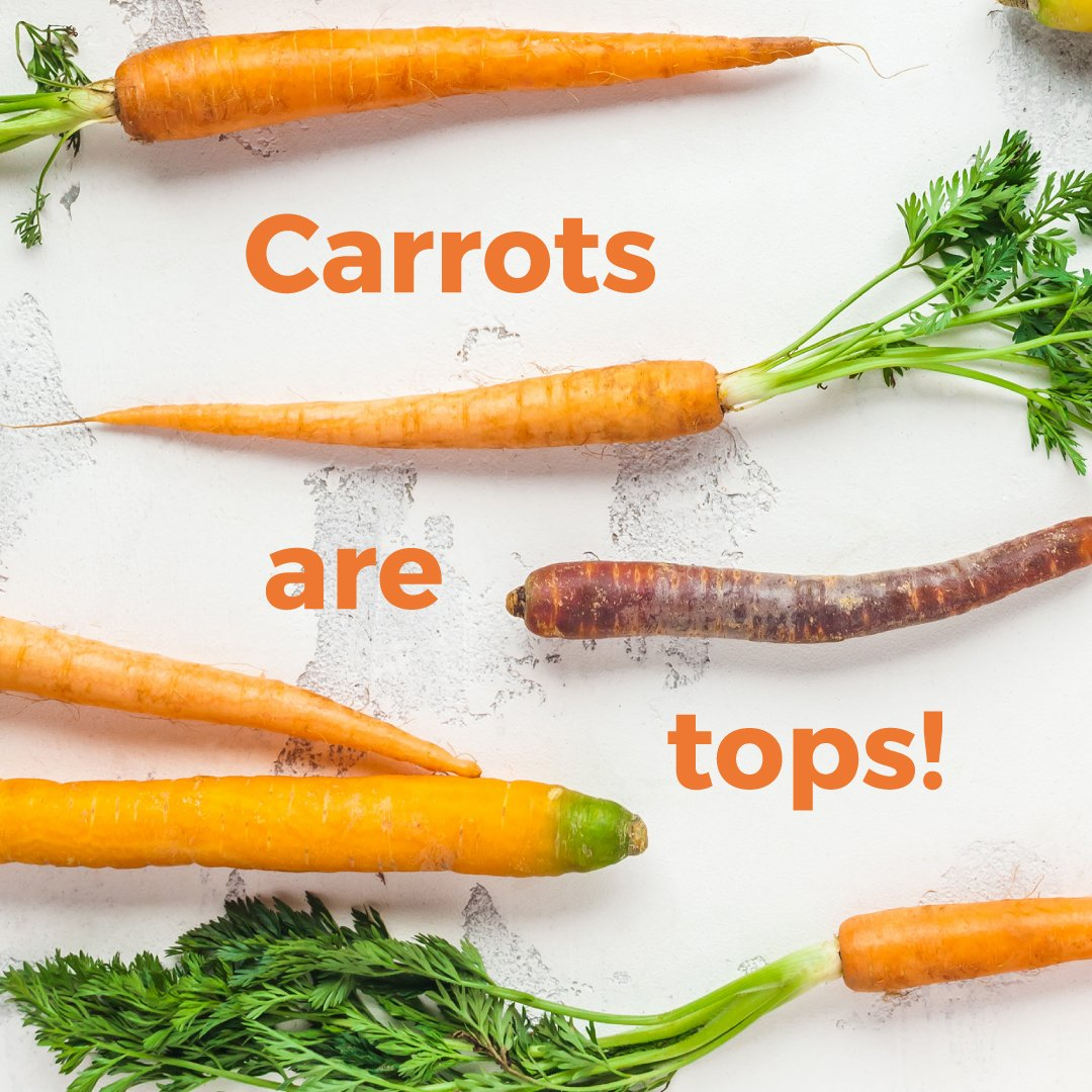 International Carrot Day - Carrots are tops!